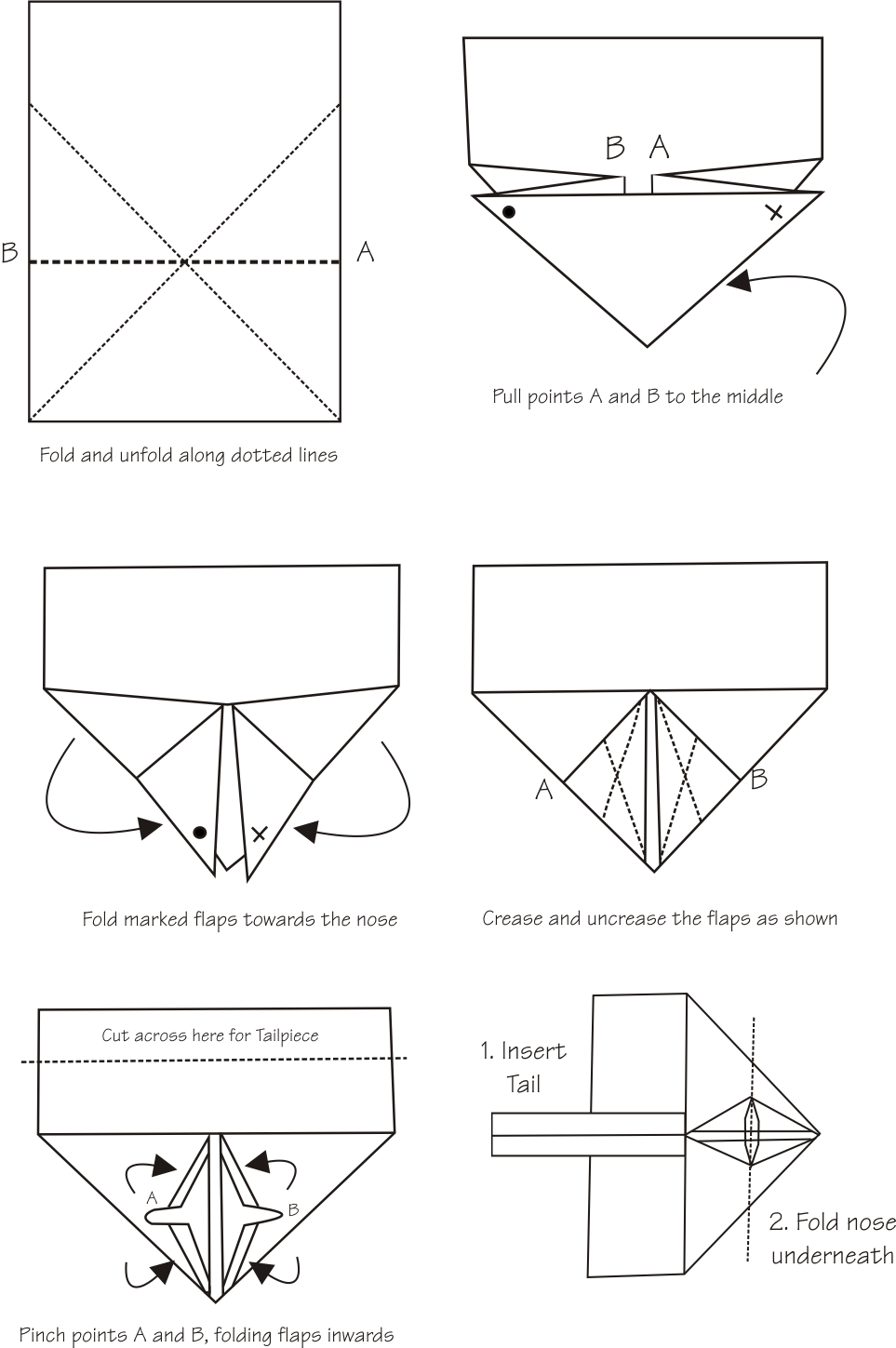 Monster image with regard to paper airplane instructions printable