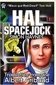 Hal Spacejock 01 (edition francaise) cover art (c) Bowman Press