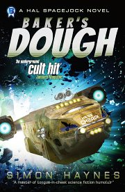 Hal Spacejock 05 Baker's Dough cover art (c) Simon Haynes