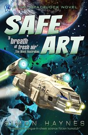Hal Spacejock 06 Safe Art cover art (c) Simon Haynes