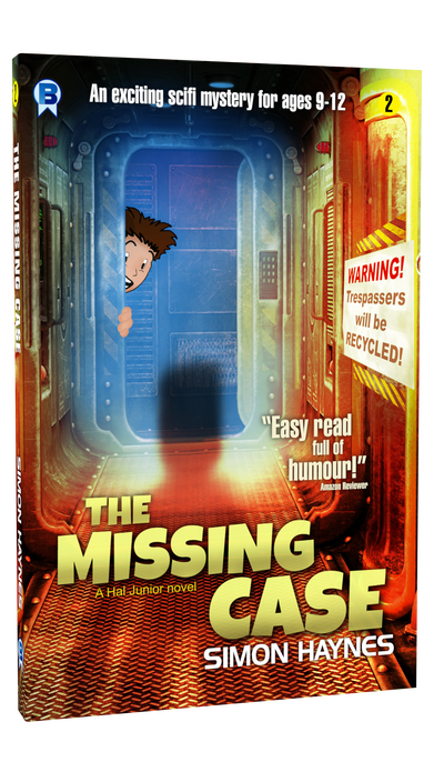 Hal Junior: The Missing Case cover art (c) Bowman Press