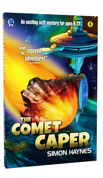 Hal Junior: The Comet Caper cover art (c) Bowman Press