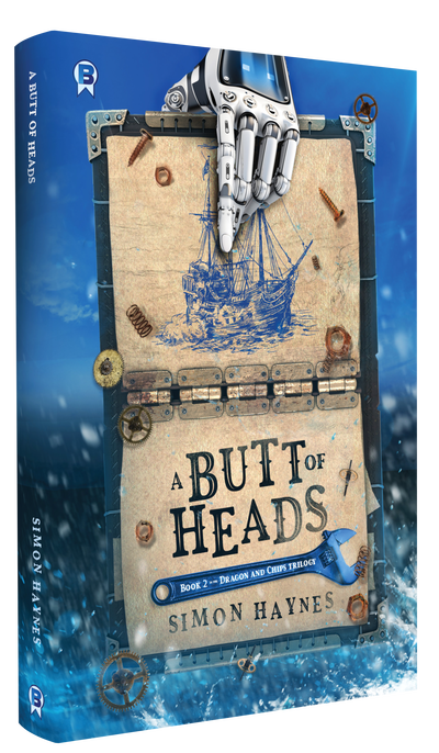A Butt of Heads cover art (c) Miblart/Bowman Press