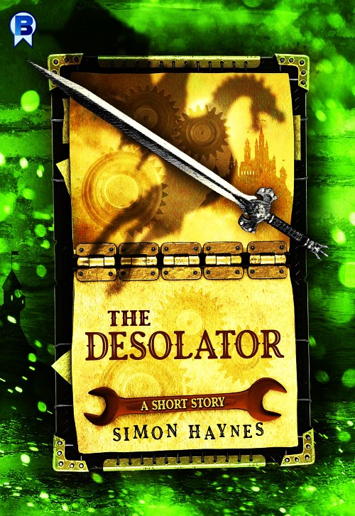 The Desolator cover art (c) Bowman Press